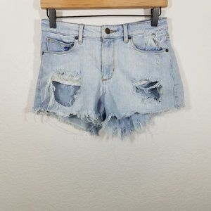 Guess Distressed Jean Shorts Size 26